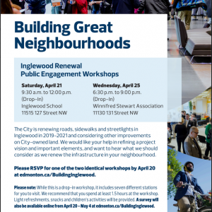 Inglewood Renewal Public Engagement Workshops