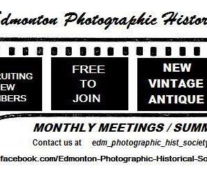 Join the Edmonton Photographic Historical Society