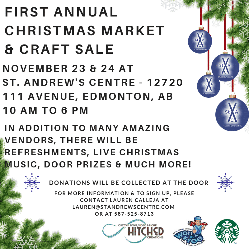 St. Andrew's Centre Christmas Market & Craft Sale