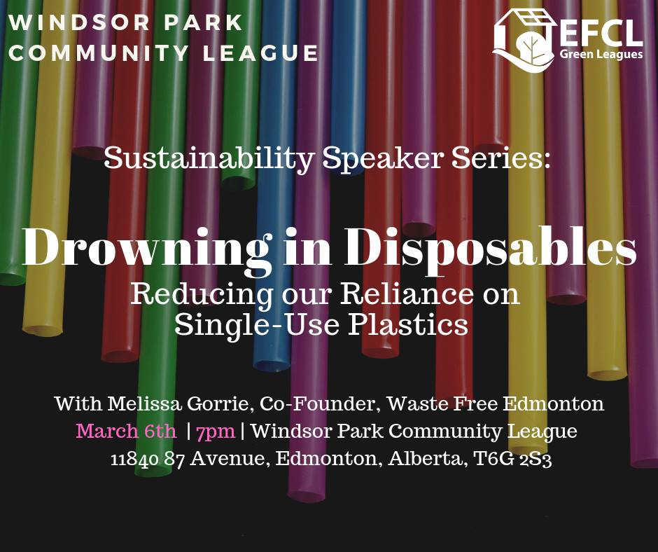 Drowning in Disposables – Windsor Park CL Sustainability Talk