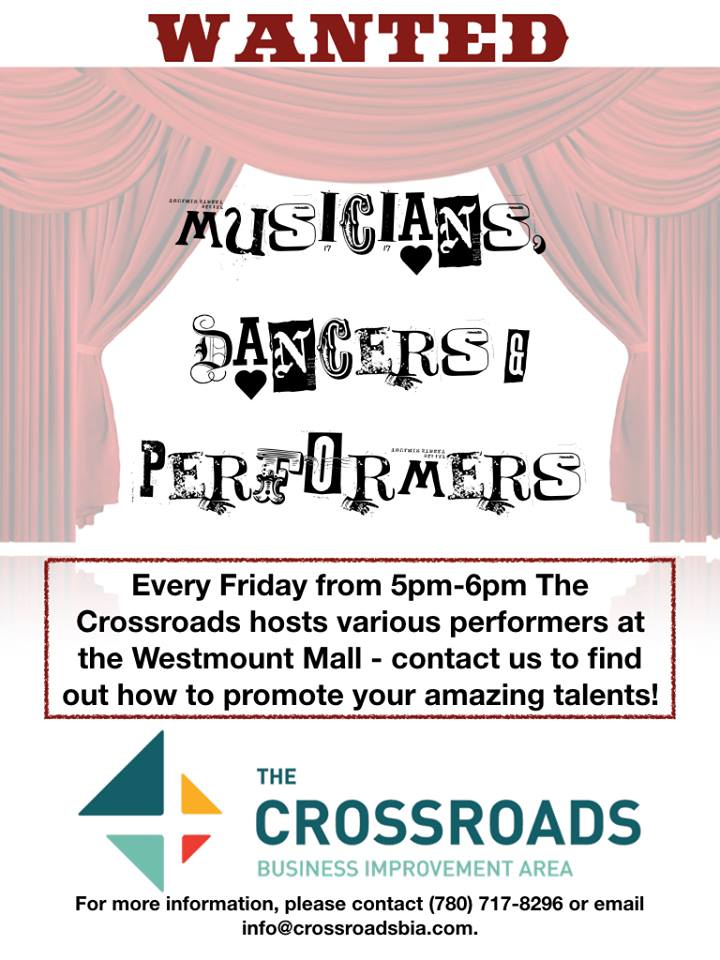 Family Fun Fridays – Performers Needed