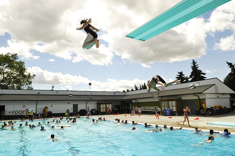 City of Edmonton Outdoor Pools FREE