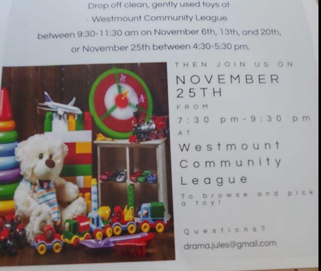 Westmount Community Toy Exchange