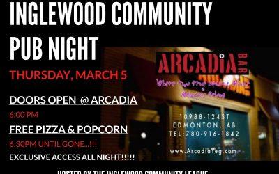 Pub Night at Arcadia!