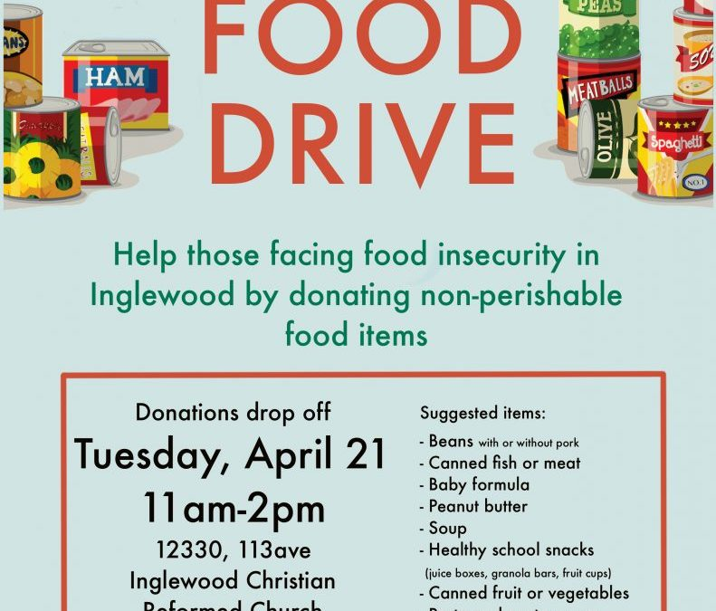 Inglewood COVID-19 Food Drive