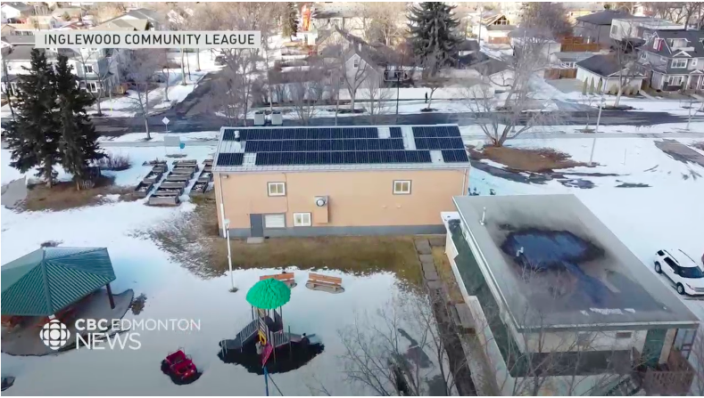 CBC News: Inglewood Solar Panel System Interview