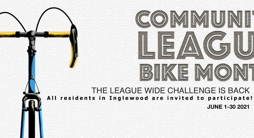 Community League Bike Month June 1-30
