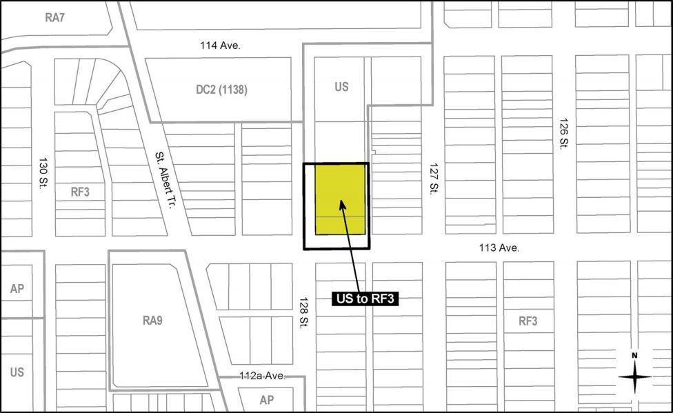 Proposed Rezoning at 11315 128 Street